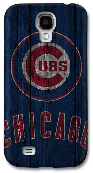 Chicago Cubs Galaxy S4 Case by Joe Hamilton