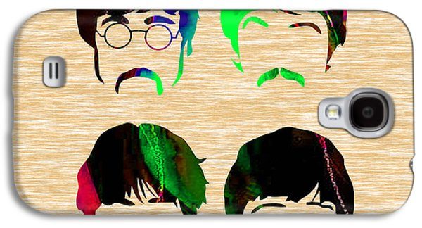 Paul Galaxy S4 Cases - The Beatles Collection Galaxy S4 Case by Marvin Blaine