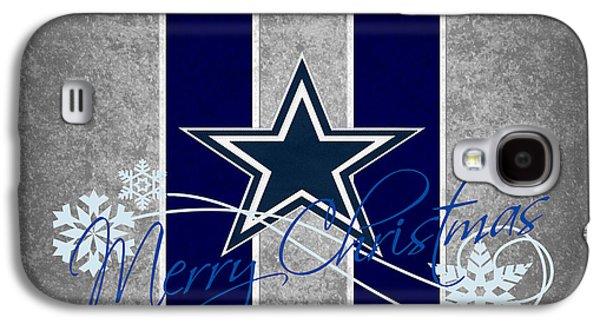 Dallas Cowboys Galaxy S4 Case by Joe Hamilton