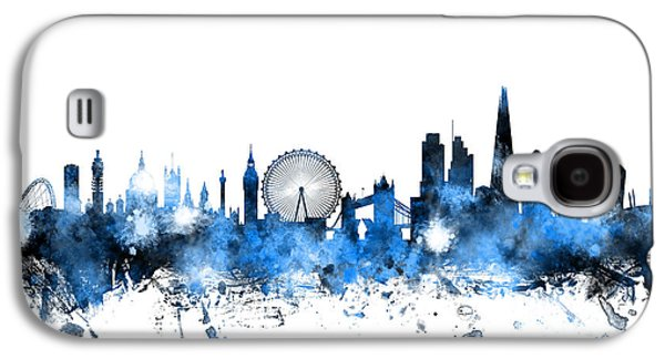 London England Skyline Galaxy S4 Case by Michael Tompsett