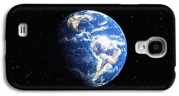 Screen Print Galaxy S4 Cases - Moonlight screen Print Galaxy S4 Case by Victor Gladkiy
