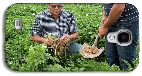 Potato Farming Galaxy S4 Case by Jim West