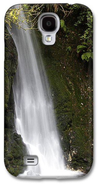 Abstract Movement Photographs Galaxy S4 Cases - Waterfall Galaxy S4 Case by Les Cunliffe