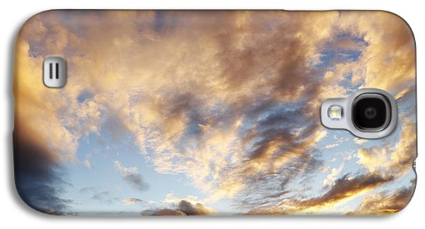 Sunset Abstract Galaxy S4 Cases - Bright sky  Galaxy S4 Case by Les Cunliffe
