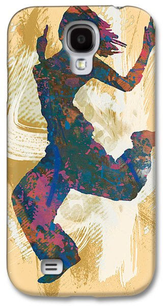 Nudes Mixed Media Galaxy S4 Cases - Hip Hop Street Dancing  pop stylised art poster Galaxy S4 Case by Kim Wang