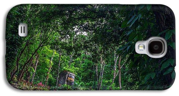 Landscapes Photographs Galaxy S4 Cases - Mambukal Galaxy S4 Case by Lik Batonboot