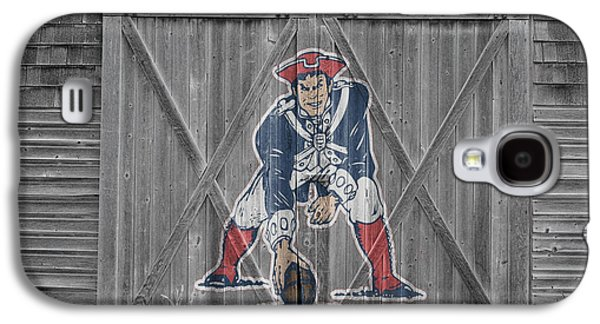 New England Patriots Galaxy S4 Case by Joe Hamilton