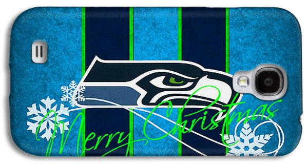 Recently Sold -  - Sports Photographs Galaxy S4 Cases - Seattle Seahawks Galaxy S4 Case by Joe Hamilton