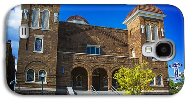 Recently Sold -  - African-american Galaxy S4 Cases - 16th Street Baptist Church Galaxy S4 Case by Ken Johnson
