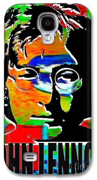 John Lennon Galaxy S4 Cases - John Lennon Galaxy S4 Case by Marvin Blaine
