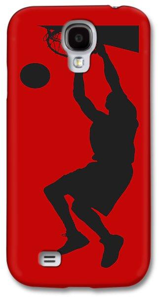 Basketballs Galaxy S4 Cases - Nba Shadow Player Galaxy S4 Case by Joe Hamilton