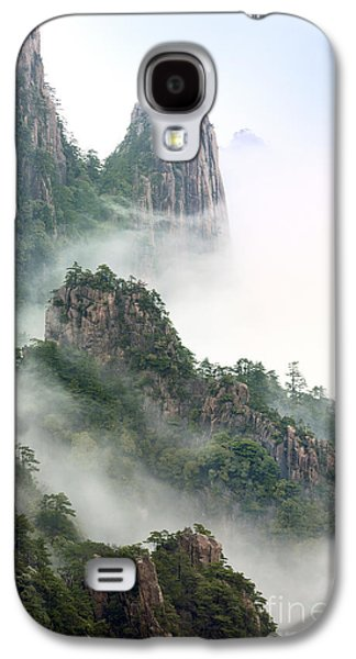 Fog Mist Galaxy S4 Cases - Beauty In Nature Galaxy S4 Case by King Wu