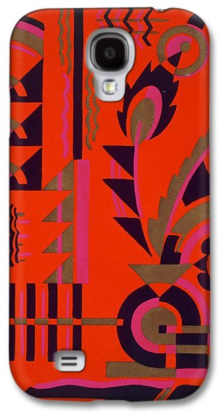 Motifs Galaxy S4 Cases - Design from Nouvelles Compositions Decoratives Galaxy S4 Case by Serge Gladky