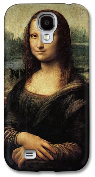 Architecture Acrylic Prints Galaxy S4 Cases - Mona Lisa Galaxy S4 Case by Leonardo da Vinci