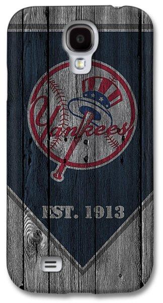 Gloves Galaxy S4 Cases - New York Yankees Galaxy S4 Case by Joe Hamilton