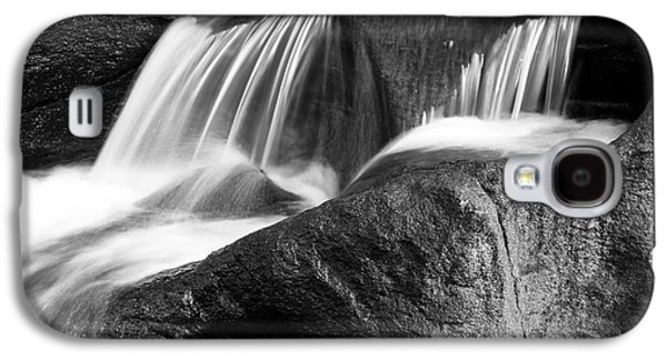 Beautiful Creek Galaxy S4 Cases - Waterfall Galaxy S4 Case by Les Cunliffe