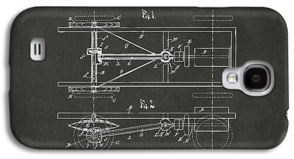 Ford Model T Car Galaxy S4 Cases - 1903 Henry Ford Model T Patent Gray Galaxy S4 Case by Nikki Marie Smith