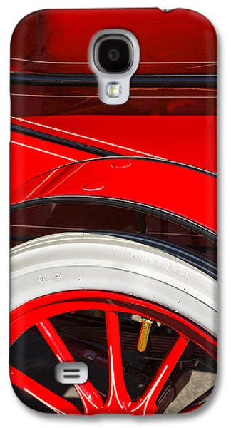 Pope Galaxy S4 Cases - 1903 Pope Hartford B Wheel Abstract Galaxy S4 Case by Jill Reger