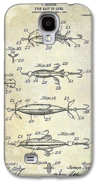 Fly Galaxy S4 Cases - 1907 Fishing Lure Patent Galaxy S4 Case by Jon Neidert