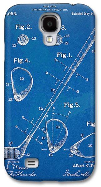 Playing Digital Art Galaxy S4 Cases - 1910 Golf Club Patent Artwork Galaxy S4 Case by Nikki Marie Smith