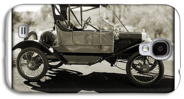 Ford Model T Car Galaxy S4 Cases - 1911 Ford Model T Torpedo Galaxy S4 Case by Jill Reger