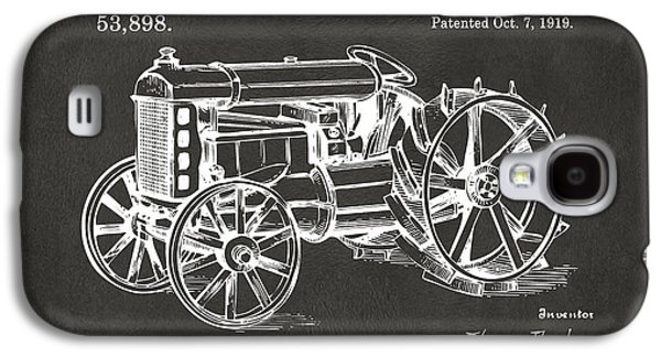 1919 Henry Ford Tractor Patent Gray Galaxy S4 Case by Nikki Marie Smith
