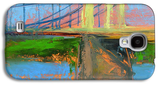 City Scenes Paintings Galaxy S4 Cases - RCNpaintings.com Galaxy S4 Case by Chris N Rohrbach