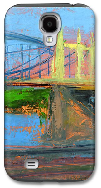 Street Paintings Galaxy S4 Cases - RCNpaintings.com Galaxy S4 Case by Chris N Rohrbach