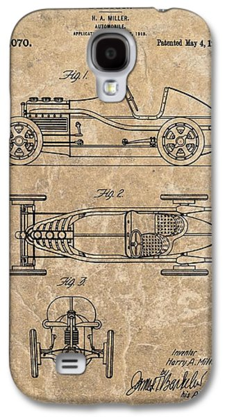 Mechanics Mixed Media Galaxy S4 Cases - 1920 Roadster Patent Galaxy S4 Case by Dan Sproul