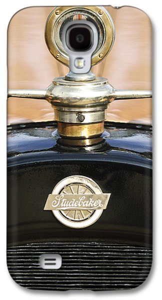 Collector Hood Ornament Galaxy S4 Cases - 1922 Studebaker Touring Hood Ornament Galaxy S4 Case by Jill Reger