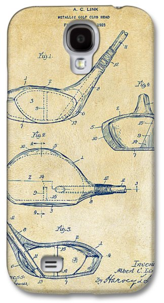 1926 Golf Club Patent Artwork - Vintage Galaxy S4 Case by Nikki Marie Smith