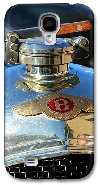 Car Mascots Galaxy S4 Cases - 1927 Bentley Hood Ornament Galaxy S4 Case by Jill Reger