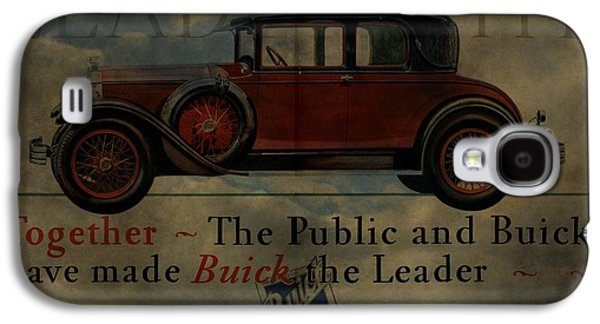 Mechanics Mixed Media Galaxy S4 Cases - 1928 Buick Advertisement Galaxy S4 Case by Dan Sproul