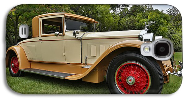 Robert Jensen Galaxy S4 Cases - 1928 Packard Series 443 Dietrich Coupe Galaxy S4 Case by Robert Jensen