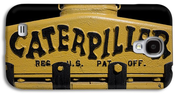 Machinery Galaxy S4 Cases - 1929 Caterpillar Baby Dozer Grill Galaxy S4 Case by Daniel Hagerman