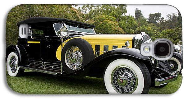 Robert Jensen Galaxy S4 Cases - 1930 Cadillac 452A V16 Dual Cowl Phaeton Galaxy S4 Case by Robert Jensen