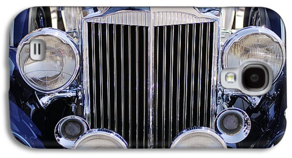 Transportation Photographs Galaxy S4 Cases - 1933 Packard 12 Convertible Coupe Grille Galaxy S4 Case by Jill Reger