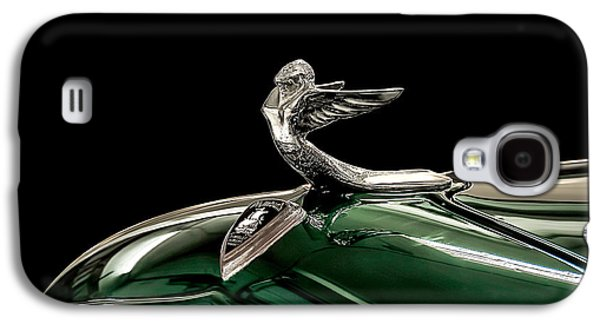 Mascot Galaxy S4 Cases - 1933 Plymouth Mascot Galaxy S4 Case by Douglas Pittman