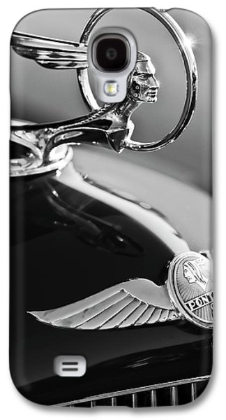 1933 Pontiac Hood Ornament 4 Galaxy S4 Case by Jill Reger