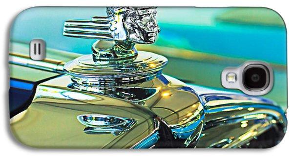 Car Mascots Galaxy S4 Cases - 1933 Stutz DV-32 Hood Ornament Galaxy S4 Case by Jill Reger