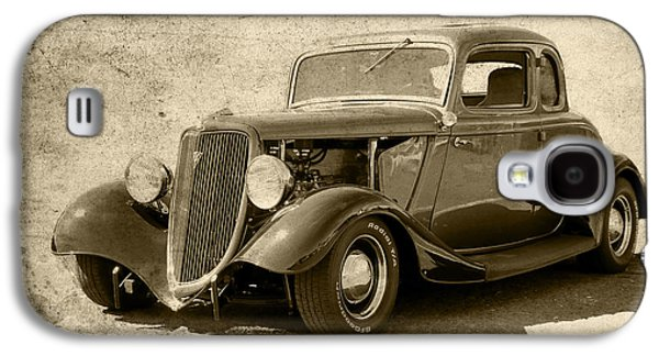 Transportation Photographs Galaxy S4 Cases - 1934 Ford Coupe Galaxy S4 Case by Steve McKinzie