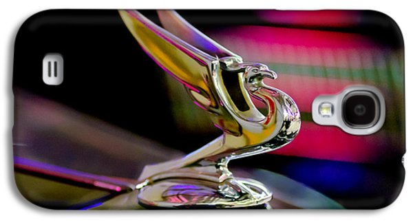 Collector Hood Ornament Galaxy S4 Cases - 1935 Chevrolet Hood Ornament 2 Galaxy S4 Case by Jill Reger