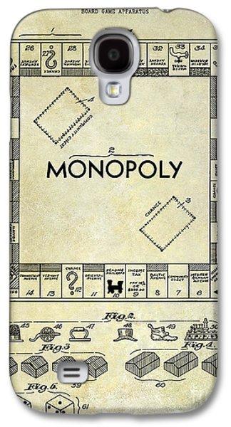 1935 Monopoly Patent Drawing Galaxy S4 Case by Jon Neidert