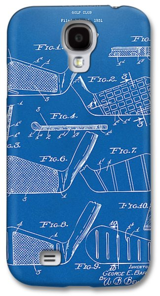 Cave Digital Galaxy S4 Cases - 1936 Golf Club Patent Blueprint Galaxy S4 Case by Nikki Marie Smith
