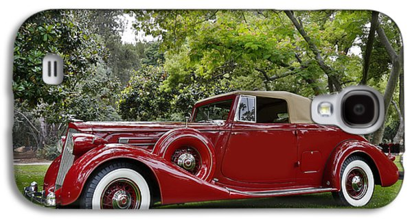 Robert Jensen Galaxy S4 Cases - 1936 Packard Series 1407 Galaxy S4 Case by Robert Jensen