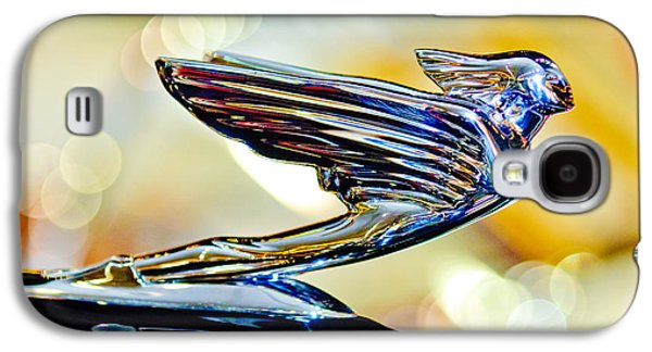 1938 Cadillac V-16 Hood Ornament 2 Galaxy S4 Case by Jill Reger