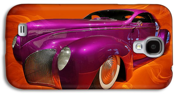 Robert Jensen Galaxy S4 Cases - 1939 Lincoln Zephyr Galaxy S4 Case by Robert Jensen