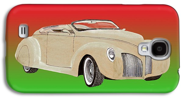 Will Power Galaxy S4 Cases - 1939 Lincoln Zephyr Speedster Galaxy S4 Case by Jack Pumphrey