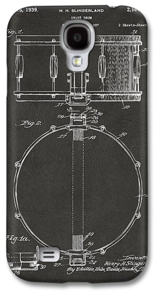 1939 Snare Drum Patent Gray Galaxy S4 Case by Nikki Marie Smith