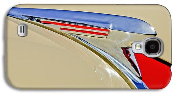 Car Mascots Galaxy S4 Cases - 1940 Chevrolet Pickup Hood Ornament 2 Galaxy S4 Case by Jill Reger